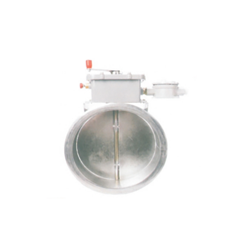 BFP-P 280℃防爆排烟防火阀 (圆形)